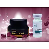 Mặt Nạ Thải Độc Lamer Care Detox Mask – Giải Độc Da, Mụn Hiệu Quả Tặng Toner Tinh thể Bạc Hà 10ml