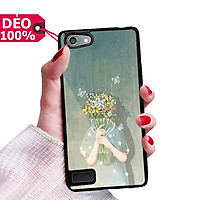 Ốp Lưng hình nền cô gái và hoa dành cho Oppo đủ dòng Oppo Neo 7 - 7S - A33 / Neo 9 / Neo 9S - F3 Lite / K3