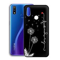 Ốp lưng mẫu đẹp cho điện thoại Realme 3 Pro - Viền dẻo - 02116 7887 BOCONGANH04 - Hoa Bồ Công Anh - Hàng Chính Hãng