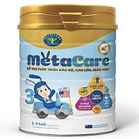 Sữa bột Nutricare Metacare 3 Mới - phát triển toàn diện cho trẻ 1-3 tuổi (400g, 900g)