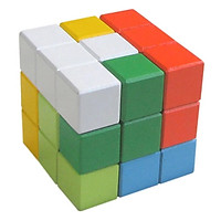 Rubik 7 màu cho bé làm quen với Rubik phát triển tư duy - Đồ chơi gỗ Việt Nam