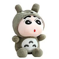 Gấu Bông Shin Totoro (50cm) Gb06 (Màu Xám)