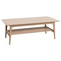 Bàn café JYSK Kalby gỗ công nghiệp veneer sồi R60xD120xC44cm