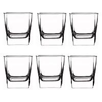 Bộ 6 cốc thủy tinh trong 5 cạnh