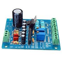 2Pcs Panel VU Meter Warm Back Light Recording & Audio Level Amp with Driver Board
