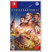 Đĩa game Sid Meier's Civilization VI cho máy Switch
