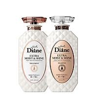 Bộ dầu gội & xả phục hồi tóc sáng bóng Moist Diane Extra Shine (450ml*2)