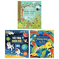 Combo Sách Tương Tác Vừa Học Vừa Chơi (Bộ 3 Cuốn)