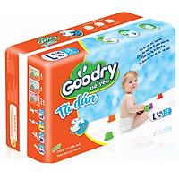 Bộ 3 Gói Tã Dán Goodry Bé Yêu L38 (9 - 14kg)