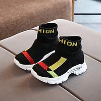 Spring Children Shoes Girls Sneaker For Running Boys Casual Shoes Outdoor Anti-Slippery Fly Knit Kids Socks Shoe Sneaker