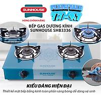 Bếp Gas Dương Kính Sunhouse SHB3336 - Hàng chính hãng