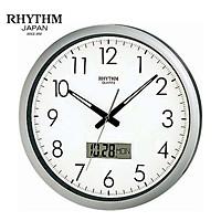 Đồng hồ treo tường Nhật Bản Rhythm CFG702NR19 - Kt 42.0 x 4.5cm, 1.45kg Vỏ nhựa, dùng PIN.