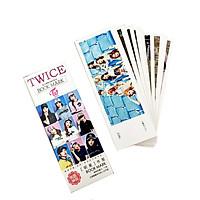 Bookmark TWICE idol set 32 pic đẹp