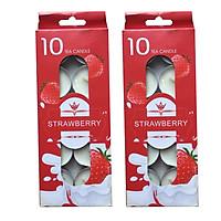 Combo 2 hộp 10 nến tealight thơm trang trí