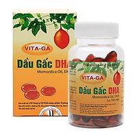 Thực phẩm bảo vệ sức khỏe dầu gấc DHA Vita-Ga tăng cường thị lực, giảm mỏi mắt, nhức mắt, mờ mắt