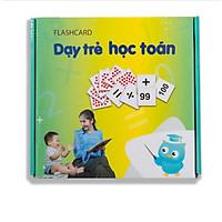 GDKIDS - Dạy Trẻ Học Toán Flashcard Glenn Doman (109 Thẻ)