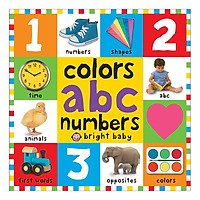 Colours ABC Numbers: First 100 Books - First 100 Books (Board book)