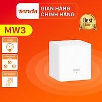 Hệ thống Wifi Nova Mesh cho gia đình Tenda MW3 Chuẩn AC 1200Mbps 1 pack- Hàng Chính Hãng