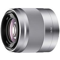 Ống Kính Sony E 50mm F1.8 OSS APS-C frame (SEL50F18) - Bạc