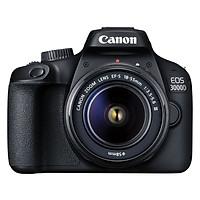 Máy Ảnh Canon 3000D KIT 18-55mm III (18 MP) - Hàng Chính Hãng (Tặng Thẻ 16GB + Túi Máy + Tấm Dán LCD)