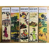 Mỹ nghệ Thanh Toàn - Kẹp sách tre màu 2 - Combo 5 cái