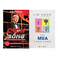 Combo  Bộ Sách Jim Rohn: Bốn Mùa Cuộc Sống - Châm Ngôn Ngày Mới  (Tái Bản) + Cách Sống