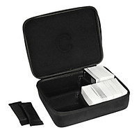 Black Hard Game Cards Storage Case Box Holder - 2 Row Fits Up to 1650 Cards