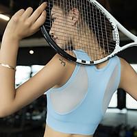 Áo Bra Tập Gym,Yoga,Fitness,Aerobic,Zumba Phối Lưới Sau Lưng
