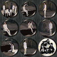 Huy hiệu cài áo balo hình nhóm BTS và các thành viên Map of the soul 7
