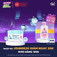 Kem Dưỡng Da Chứa Sữa Và Gạo Johnson's Baby 20309343 (50g)