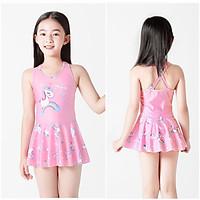 Bộ bơi rời hình ngựa Pony bé gái 4-12 tuổi áo bơi kiểu váy