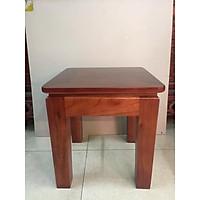 Ghế gỗ xoan chân vuông