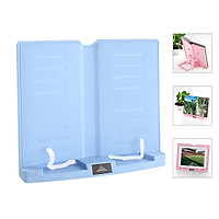 Portable Book Stand Adjustable 6 Angles Book Document Holder Foldable Bookstand Hands Free Desk Reading for Cookbook