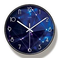 Đồng hồ treo tường kim trôi loại 30cm - Kính phẳng - Đồng hồ treo tường trang trí HÌNH THIÊN VĂN HỌC