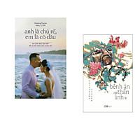 Combo 2 cuốn sách: Anh là chú rể, em là cô dâu + Bệnh án của thần linh