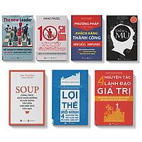 Sách - COMBO  7 cuốn - PP tiếp cận KH; 10 sai lầm; Kế hoạch100 ngày; Mô hình 4 nguyên tắc; Lợi thế, Soup, Điểm mù