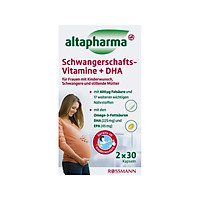 ALTAPHARMA Pregnancy Vitamins & DHA 60 capsules Germany