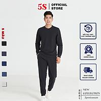 Bộ Quần Áo Nỉ Nam 5S (5 màu), Chất Liệu Cotton USA, Mềm Mịn, Bền Màu, Không Bai Xù, Co Giãn Thoải Mái (BNI21001)