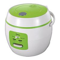 Nồi cơm điện, nấu cháo, soup, 2 chức năng nấu cơm và baby food(cháo soup bé con MIDEA 0.6L-Hàng chính hãng