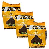 3 gói bánh đa tỏi đen Garlica