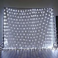 Đèn LED Rèm Treo Ngoài Trời Chống Thấm Nước - Nhiều Kích Cỡ