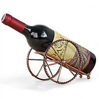 Kệ để Chai Rượu Vang Mẫu Mới Hình Bánh Xe