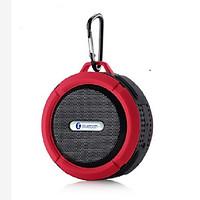 Loa Bluetooth GUTEK C6 Mini, Loa Địa Hình Chống Va Đập Chống Nước, Loa Nghe Nhạc Cầm Tay Không Dây Di Độngh Âm Thanh Hay, Có Móc Đeo Balo Tiện Lợi, Nhiều Màu Sắc - Hàng chính hãng