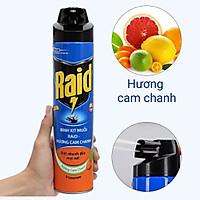 Xịt Muỗi Raid FIK Hương Cam Chanh 600ml