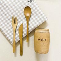 Bộ Muỗng (Thìa), Nĩa, Dao bằng Tre, Cơm trưa cho văn phòng | Eco Store, Sản phẩm thân thiện Môi trường