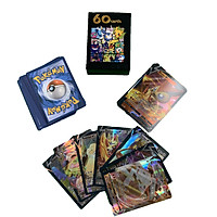 Bộ Thẻ Bài Chơi Pokemon 60 Thẻ (49V + 11Vmax ) Chơi Đối Kháng New Đẹp