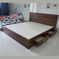 Giường Vai Đứng FINE FG154 (140cm x 200cm) Mẫu hiện đại tối giản, thiết kế đẹp sang trọng