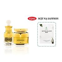 Bộ 2 sản phẩm Trắng Da Ngừa mụn KN Beauty chuyên sâu: Kem dưỡng 25g + Serum 30ml - Quà Tặng Mặt Nạ