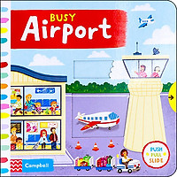 Busy Airport - Busy Books (Board book)