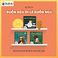 Sách Ehon Nhật Bản- Combo 3 cuốn Buồn Ngủ Ơi Là Buồn Ngủ dành cho bé từ 0-6 tuổi- Bộ Ehon Nhật Bản giúp bé dễ đi vào giấc ngủ